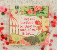 Adornment - Card - Chocolate